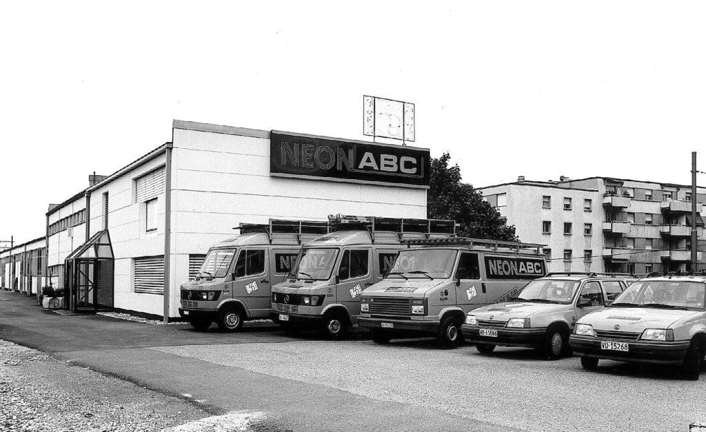 Usine Néon ABC en 1992