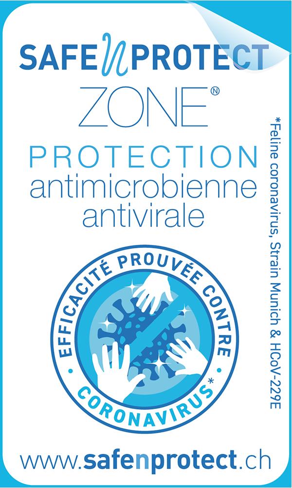 SafeNprotect - Etiquette labellisée